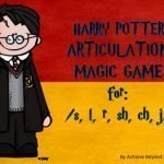 Harry Potter Articulation Game for Speech Therapy by Achieve Beyond
