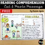 Fall Reading Comprehension Cut & Paste Passage from Tejeda's Tots