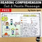 Fall Reading Comprehension Cut