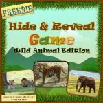 Vocabulary Hide and Reveal Game (free version) by BVG SLP