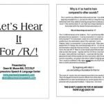 Let's Hear It For R! ~ Main Program Outline by Expressions Speech