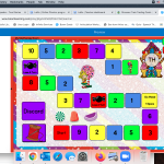 Candy Craze Gameboards: Articulation (TH) BOOM Cards Deck by My Teletherapy Room
