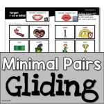 Minimal Pairs & More: Gliding | Speech Therapy | Phonological Disorders | Cycles by the Pedi Speechie