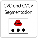 CVC and CVCV Segmentation BOOM Cards! Deck for Phonemic Awareness by seesee